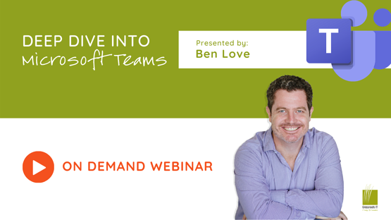 WEBINAR REPLAY - Deep Dive into Teams